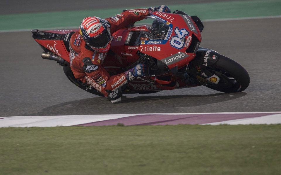 Довициозо спечели първия старт в MotoGP