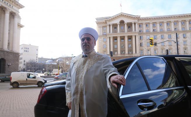 Главният мюфтия Мустафа Хаджи