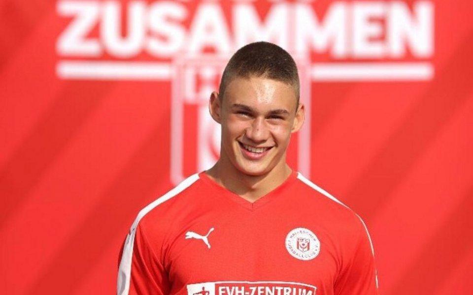 Юношески национал с нов силен мач в Германия