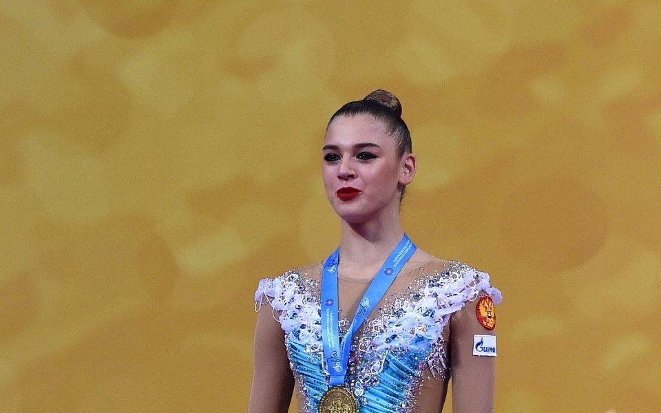 Руската гимнастичка Александра Солдатова отново зарадва феновете си със снимка