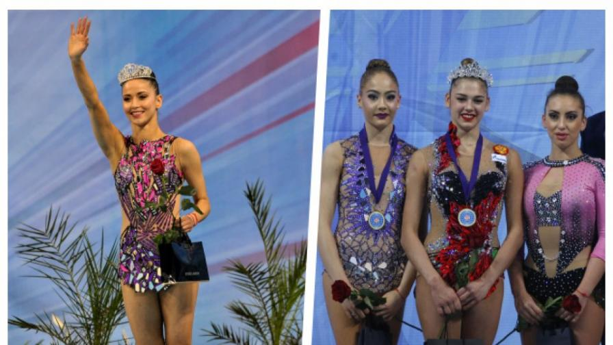 Уникална корона за Кралицата на Световната купа по художествена гимнастика в София
