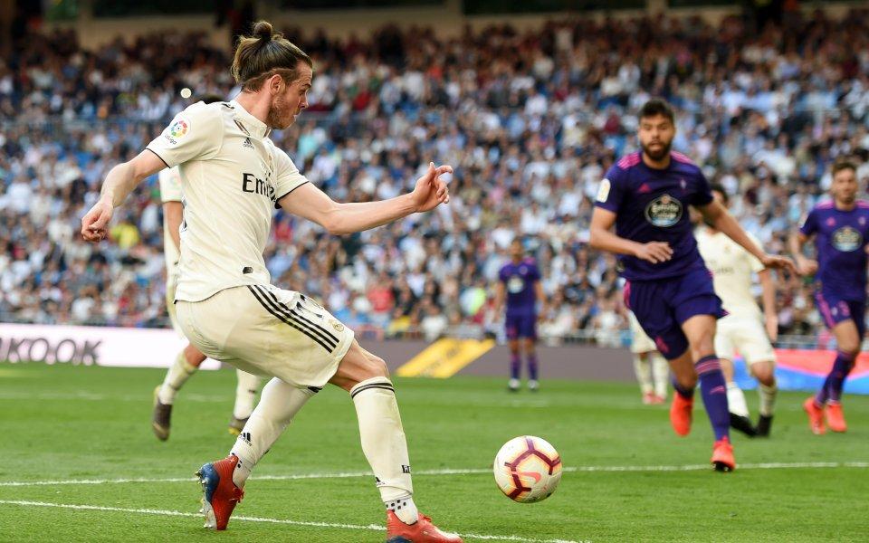 Напрежение в Реал Мадрид заради Бейл