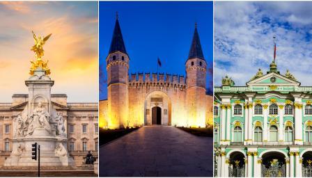7 внушителни кралски дворци от цял свят, които ще спрат дъха ви