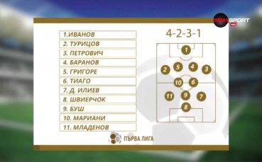 Идеалният отбор на 26-ия кръг на Първа лига
