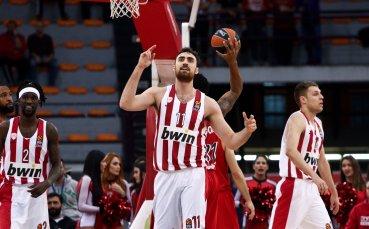 Везенков и Олимпиакос с важна победа в Евролигата