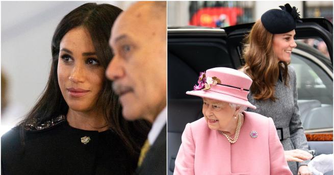 Вчера принц Хари и Меган Маркъл посетиха висшия комисарият на