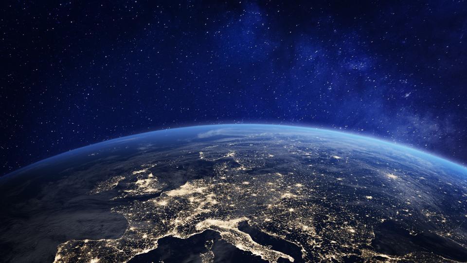 космос земя планета небе
