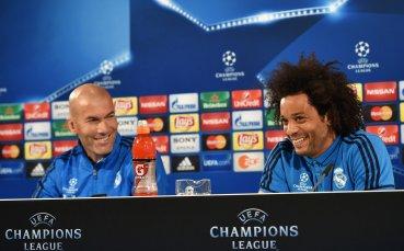 Зизу към Марсело: Искам те и догодина в Реал Мадрид!