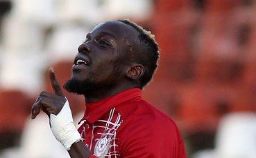 Безхарактерността отблъсква стрелец на ЦСКА от Гамбия
