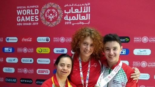 Хари Хаджиев, Нина ал Рифаи, в средата - Боряна Туманова