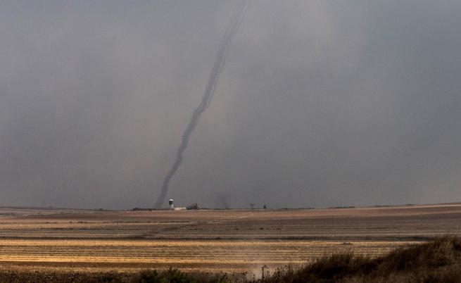 Ракетна атака срещу Израел, шестима са ранени
