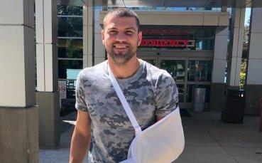 Тервел се е боксирал със счупена ръка срещу Уилямс