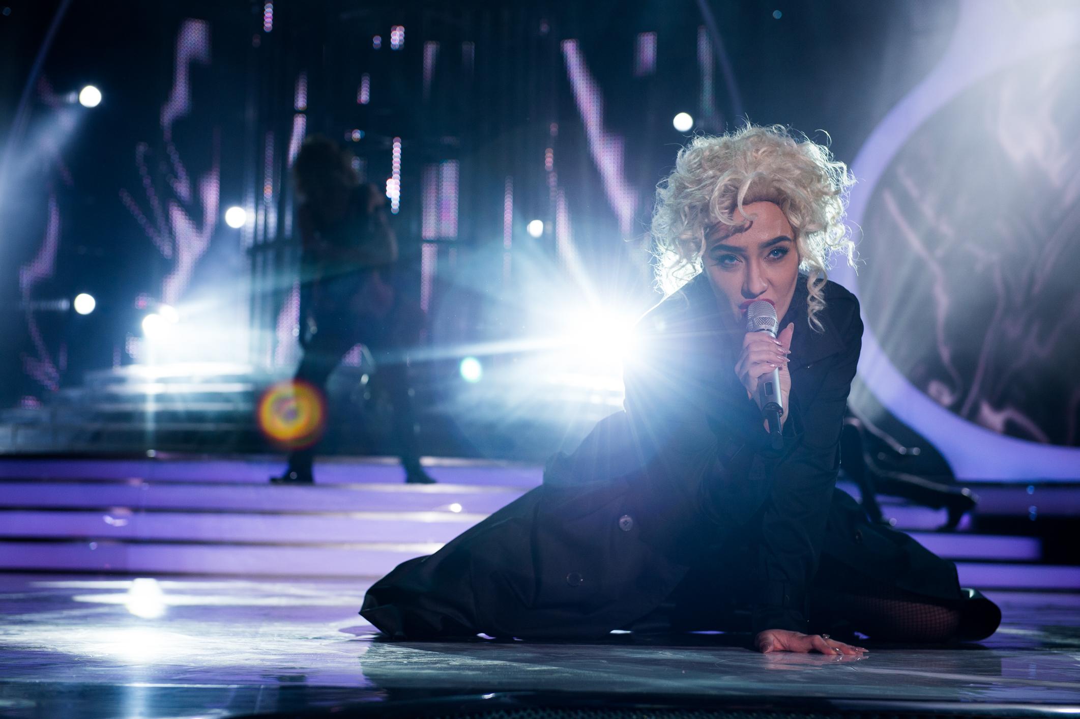 Мария Илиема като Мадона