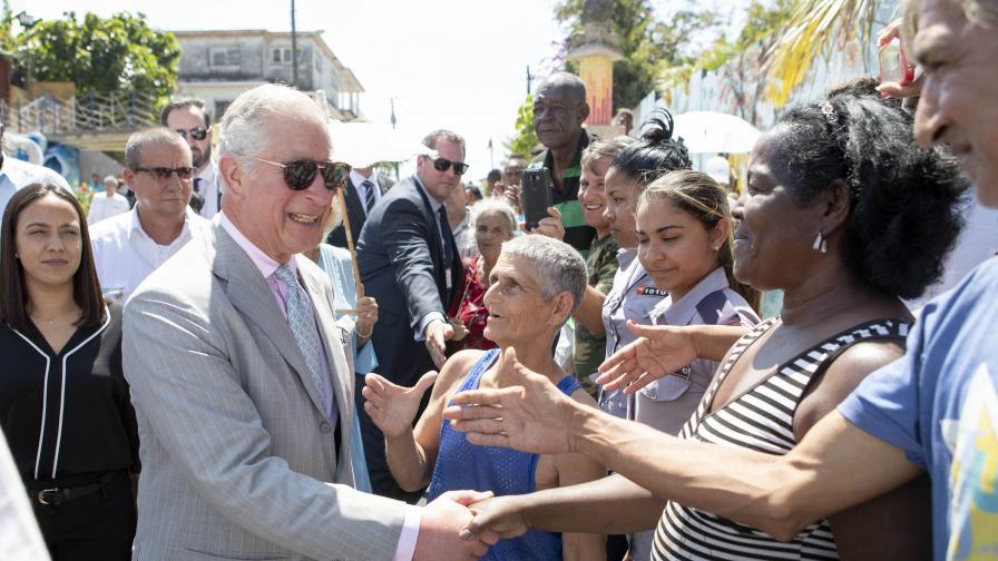 Принц Чарлз с историческо посещение в Куба