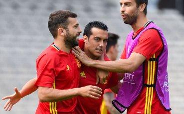 Жорди Алба защити Пике за участието му за Каталуния