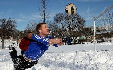 Световен тур по снежен волейбол стартира в Австрия