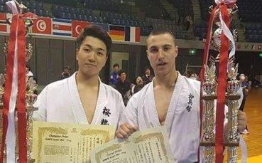 Българин стана трети в Гран При по киокушин в Токио