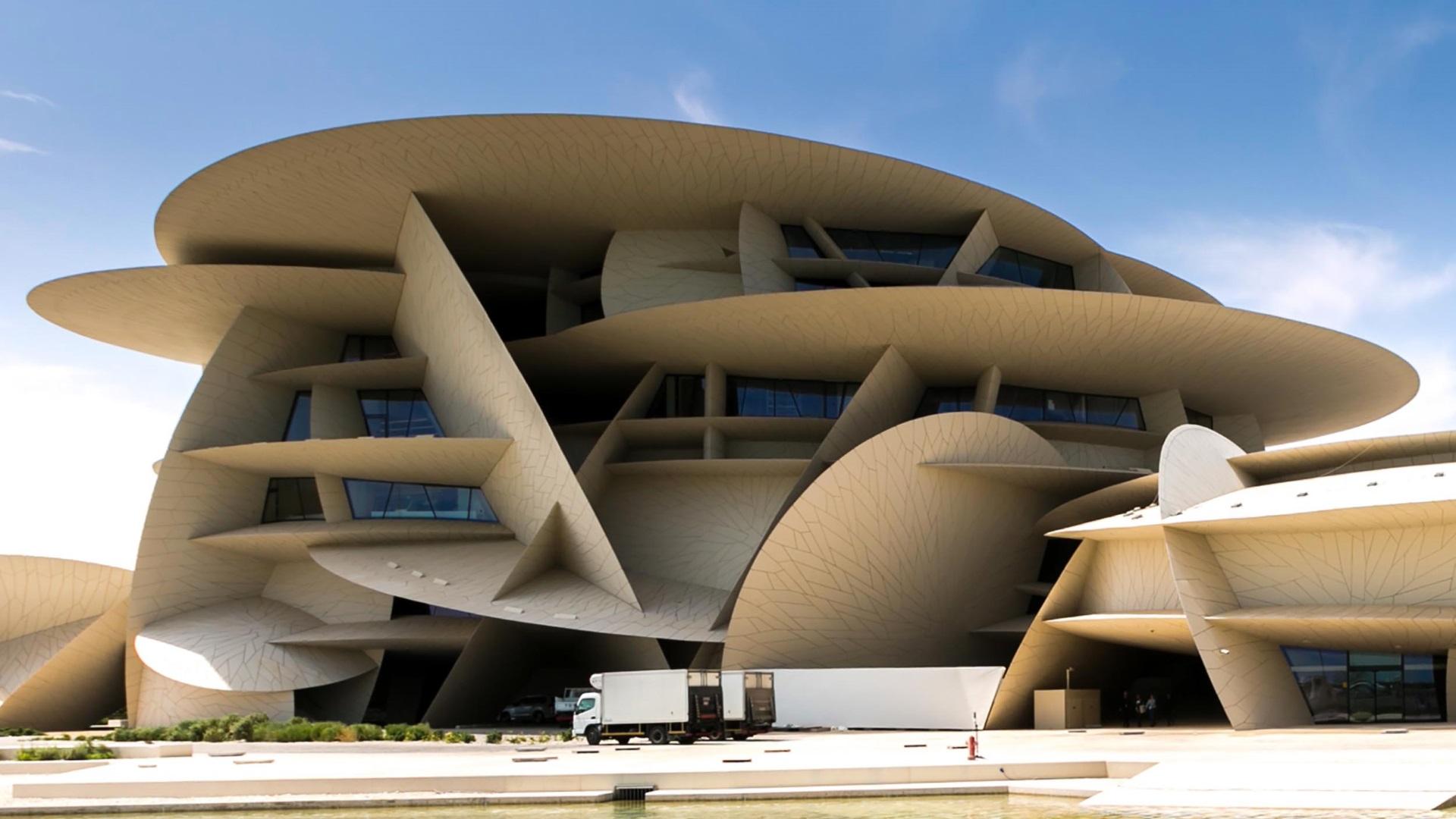 Националният музей на Катар в Доха, който е по проект на френския архитект Жан Нувел, беше открит тържествено с церемония, на която присъстваха много знаменитости.