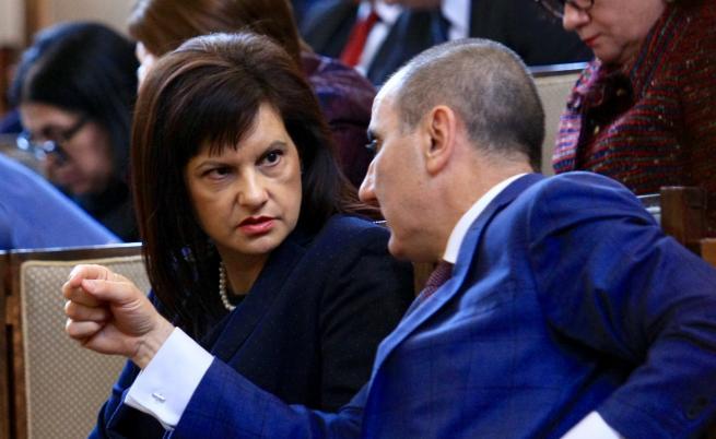 Даниела Дариткова и Цветан Цветанов