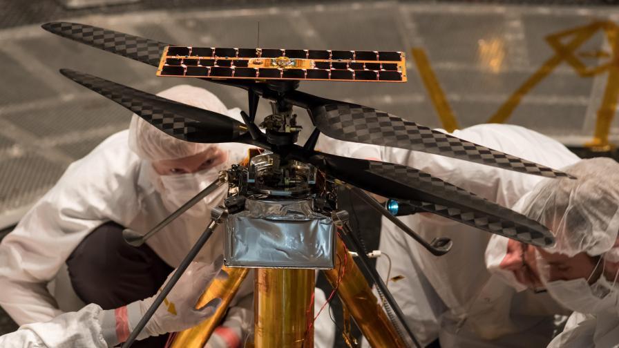 Марсианският хеликоптер на НАСА