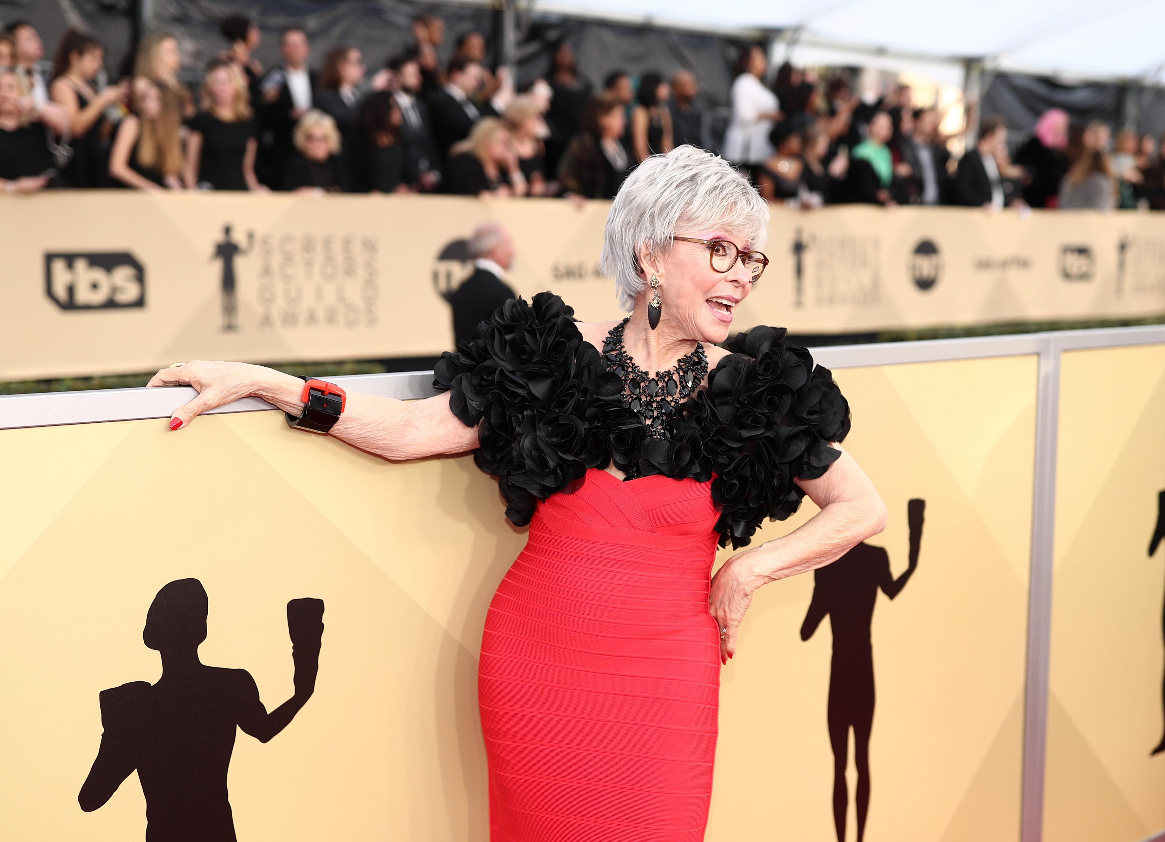 """Актрисата, певица и танцьорка Рита Морено ще бъде удостоена с награда """"Пийбоди"""" за цялостна кариера. Осемдесет и седем годишната Морено, чиято звезда изгрява с филма """"Уестсайдска история"""" (1961), ще бъде почетена с отличието на 18 май, когато на тържествена гала в Ню Йорк ще бъдат раздадени наградите """"Пийбоди""""."""