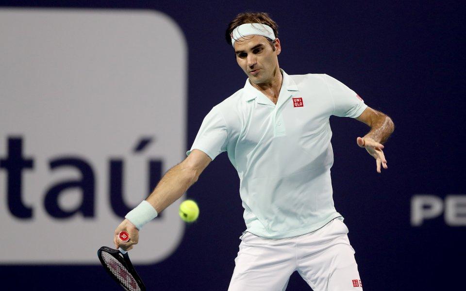Федерер ще може отново да ползва собственото си лого
