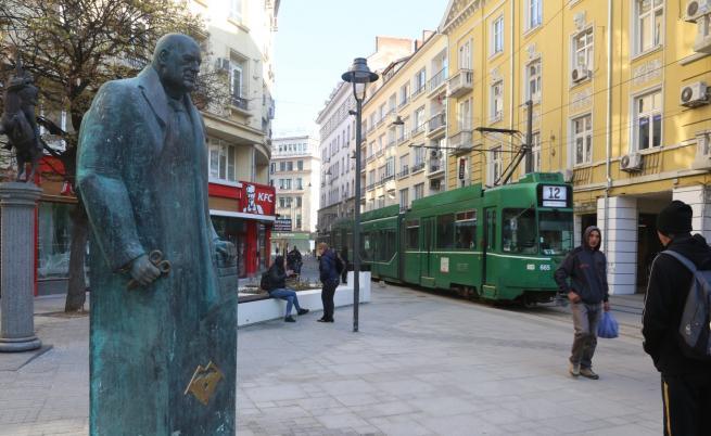 Паметник на Бойко Борисов в София