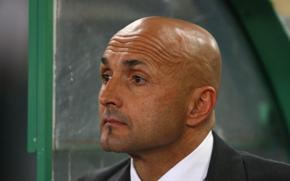 Бившият треньор на Рома и Интер Лучано Спалети може да