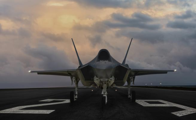 САЩ спират вноса на оборудване за F-35 от Турция
