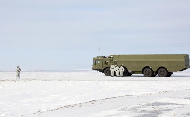 Как противник на Путин бе изпратен в Арктика