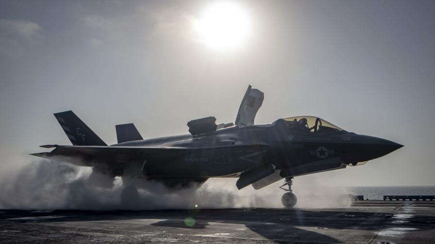 <p>САЩ предлагат F-35 на Гърция, Румъния и Полша</p>