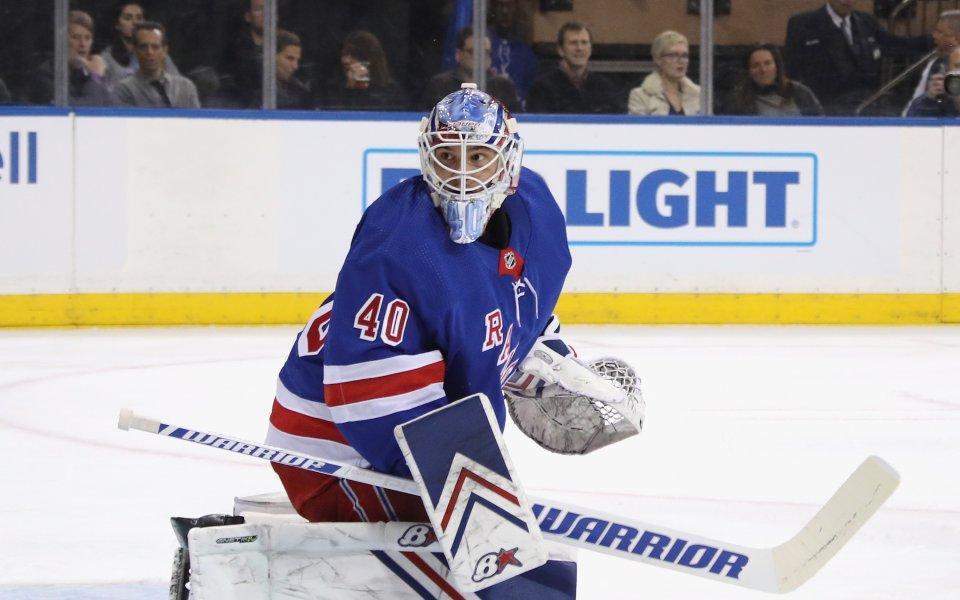 Александър Георгиев с 36 спасявания за победа на Рейнджърс в НХЛ