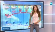 Прогноза за времето (08.04.2019 - централна емисия)