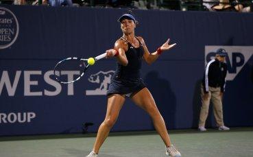 Родна тенисистка вдигна градусите с видео от хотелската си стая