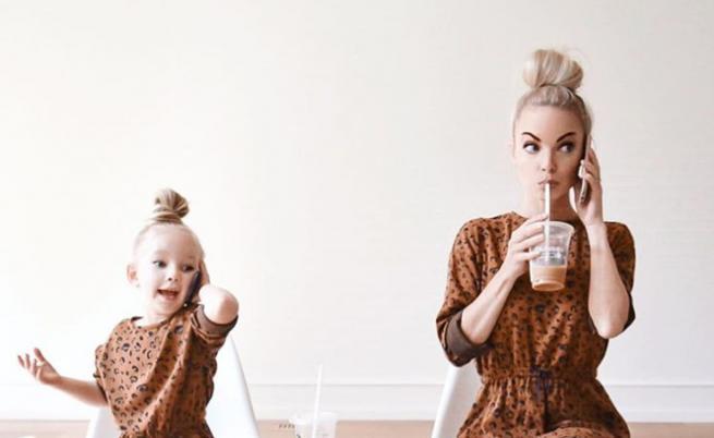 Майка и дъщеря - хит в мрежата