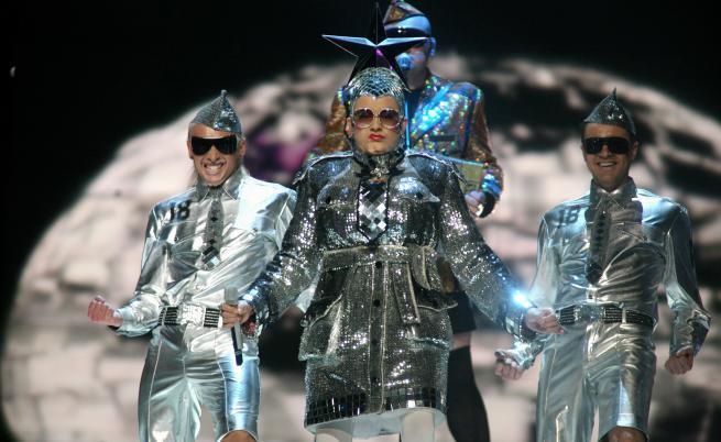 """Най-шокиращите изпълнения на сцената на """"Евровизия"""""""