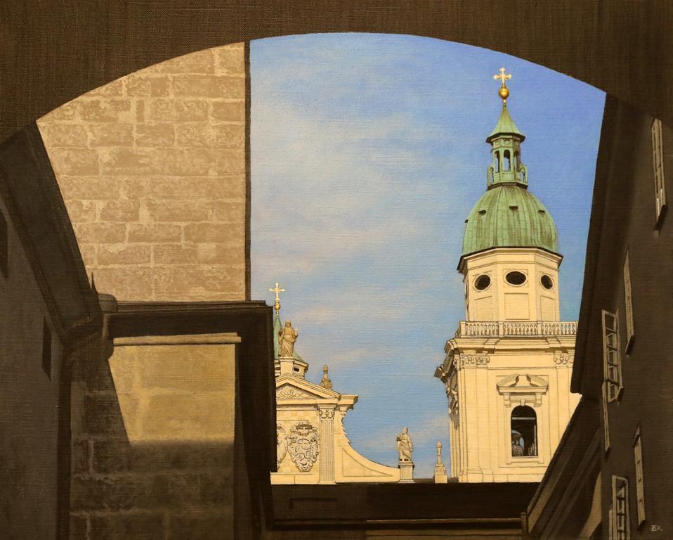 Такава е например изящната катедрала в Залцбург, която изведнъж се появява сякаш от нищото в края на една съвсем обикновена улица и те зашеметява със своето величие и красота