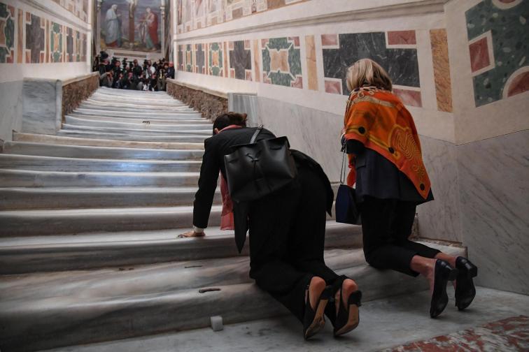 свещени стъпала рим