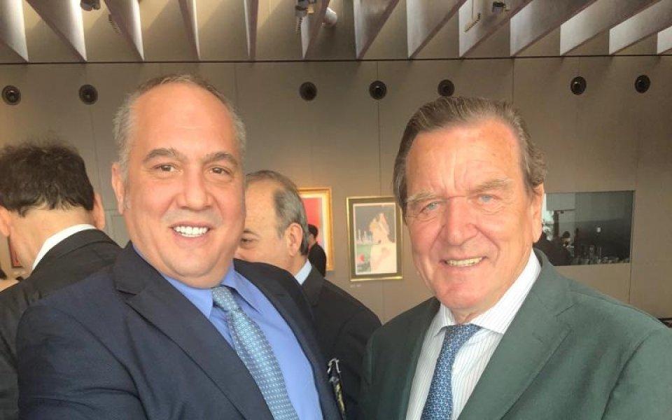 Шефът на родното таекуондо се срещна с президента на МОК