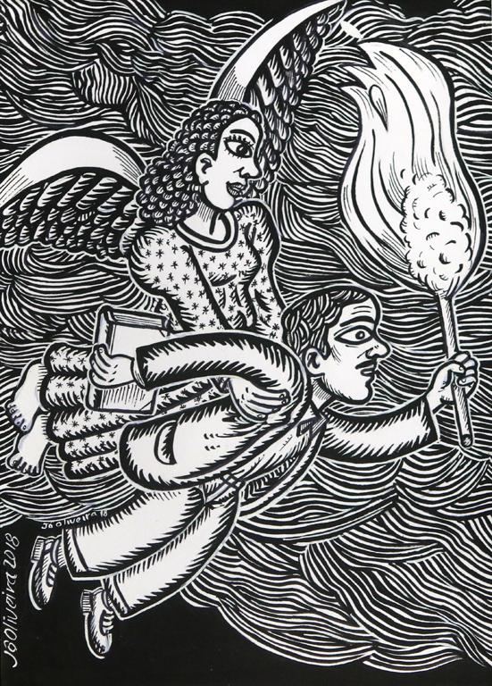 Жо Оливейра е сред най-респектиращите автори на илюстрации за класически и модерни приказки, той е вторият баща на Пинокио и на Алиса, които буквално оживяват в неговите рисунки. Художникът е създал и над 50 уникални марки за Бразилската поща.