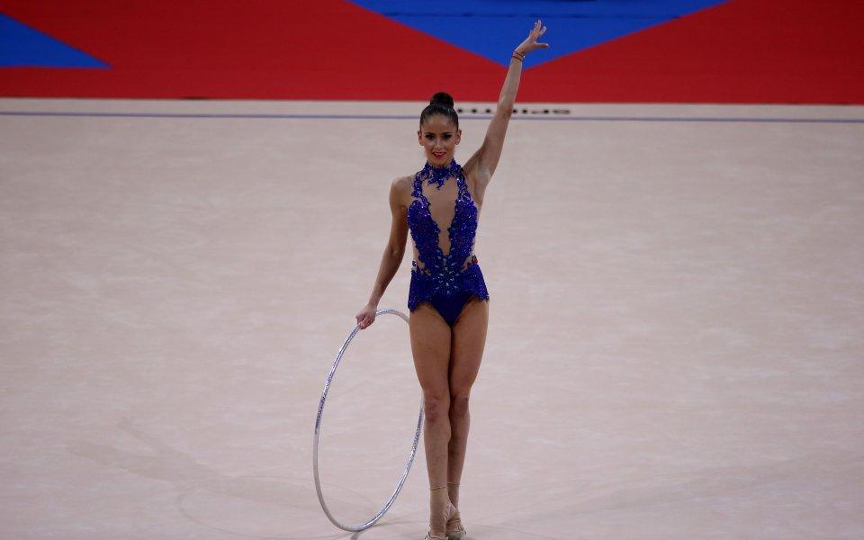 Владинова стана вицепрезидент на федерацията по художествена гимнастика