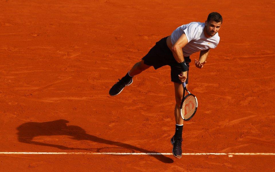 Григор Димитров срещу германец във втория кръг в Монте Карло