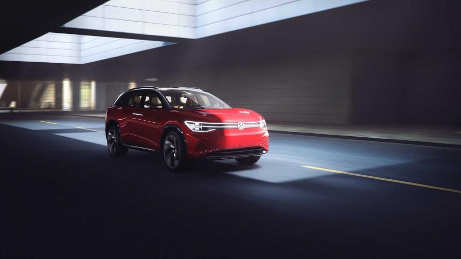 <p>VW показа електрически 7-местен SUV с пробег 450 км</p>