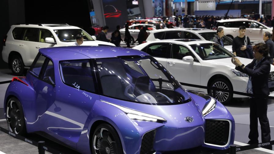 Автомобилно изложение в Шанхай 2019