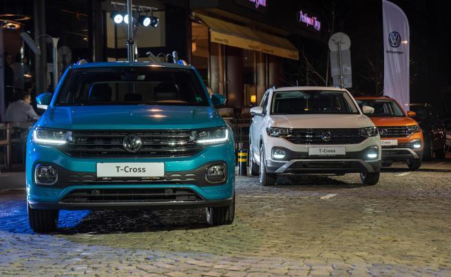 Автомобил на годината в България е Volkswagen T-Cross