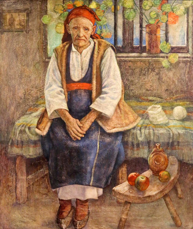 Васил Стоилов, Селянка от Софийско 1934г.