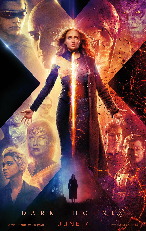 """Dark Phoenix / """"Х-Мен: Тъмния феникс"""" – Премиерна дата: 07/06/2019; Режисьор: Саймън Кинбърг; Участват: Софи Търнър, Джесика Частейн, Майкъл Фасбендър"""