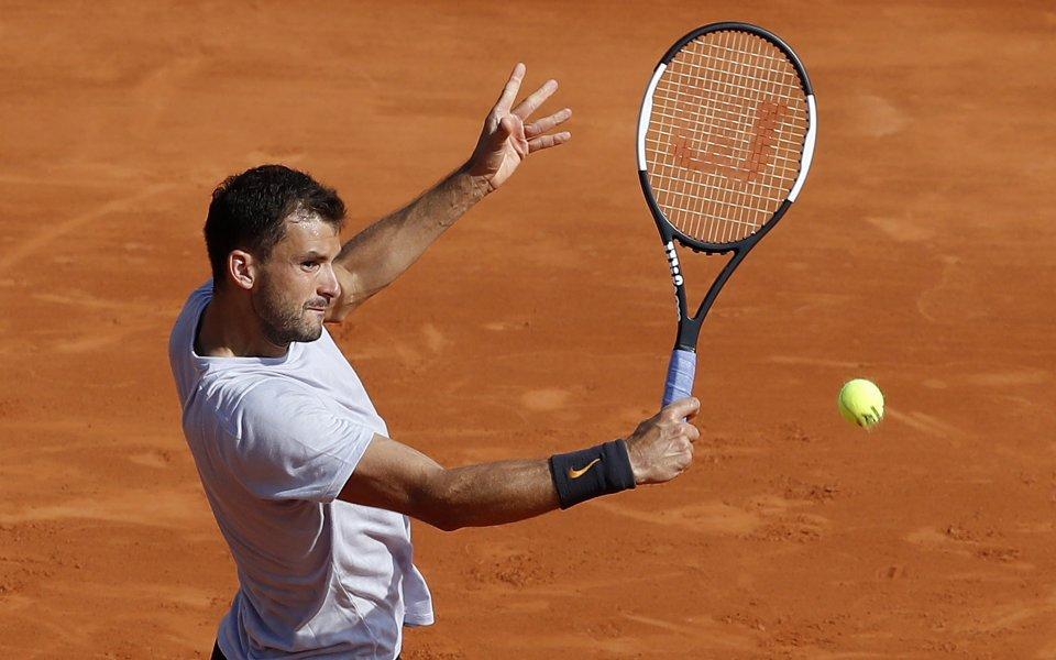 Снимка: Григор Димитров ще играе срещу испанец във втория кръг на турнира в Барселона