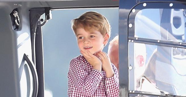 Снимка: Сладкият прякор, с който децата наричат принц Джордж в детската градина