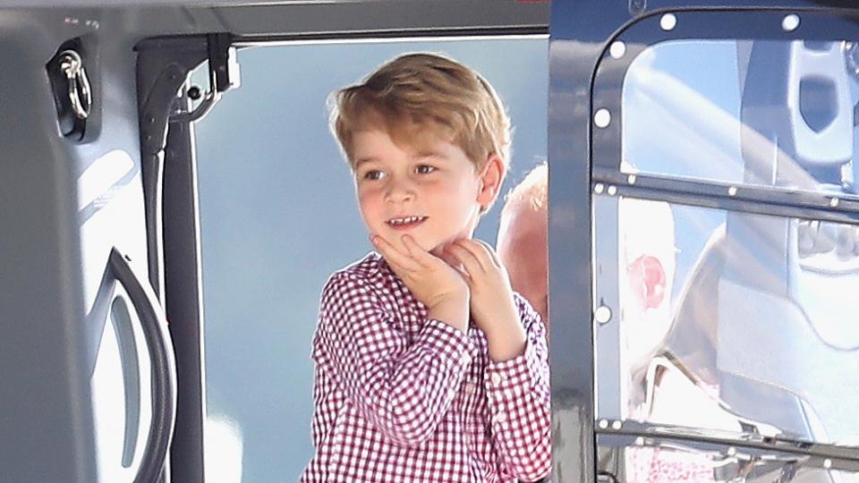 Сладкият прякор, с който децата наричат принц Джордж в детската градина